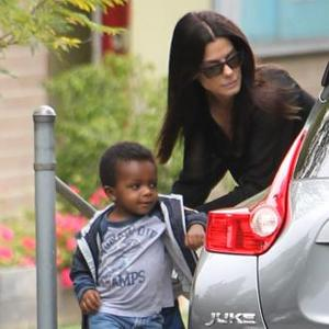 Sandra Bullock Is Dedicated To Son