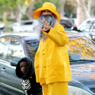 Sandra Bullock Is Halloween Fisherman