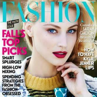 Sarah Gadon thinks inequality is 'unfortunate'