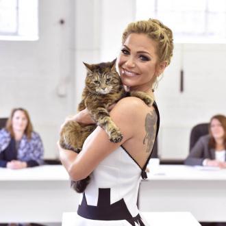 Sarah Harding judging UK's Happiest Cat