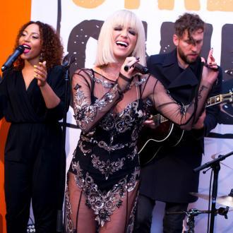Sarah Harding returns to 'rock chick roots'