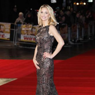 Sarah Harding Enjoys The Red Carpet