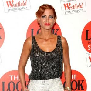 Sarah Harding Makes Catwalk Debut