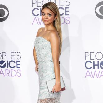 Sarah Hyland having more fun blonde