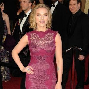 Scarlett Johansson Can't Get Jackman's Shirt Off