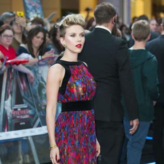 Scarlett Johansson punches hard
