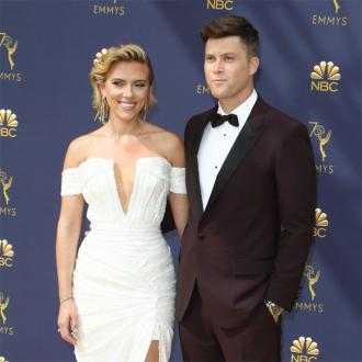 Scarlett Johansson brands Colin Jost the 'love of my life'