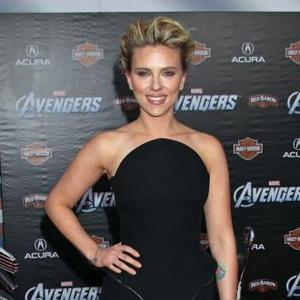 Scarlett Johansson Receives Star On Hollywood Walk Of Fame