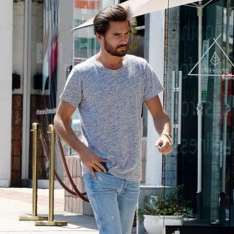 Scott Disick struggles to talk about late parents