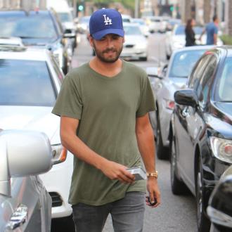 Scott Disick is a visitor in own home