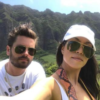 Kourtney Kardashian co-parenting with Scott Disick in Hawaii