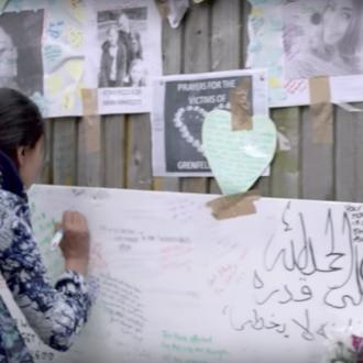 Artists For Grenfell music video features emotional footage