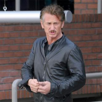 Sean Penn had a Zoom wedding