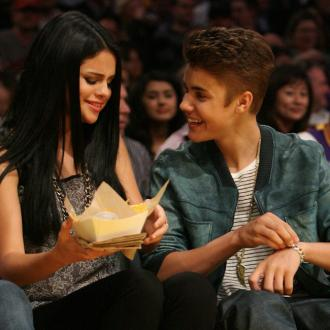Selena Gomez Camps With Justin Bieber