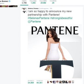 Selena Gomez Lands First Beauty Campaign With Pantene
