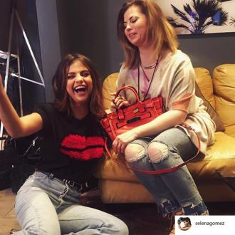 Selena Gomez personalises a Coach handbag for her mother