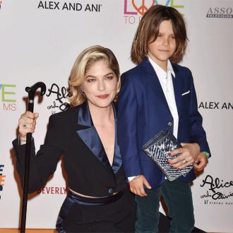 Selma Blair reveals emotional birth of son on his eighth birthday