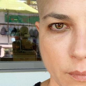 Selma Blair Has 'Thick' Face Fuzz