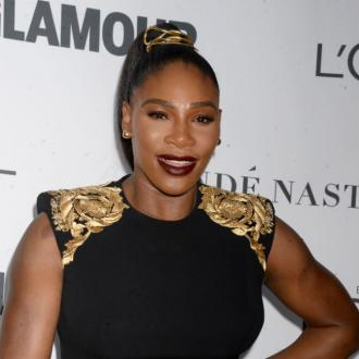 Serena Williams' daughter helps with her beauty routine