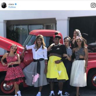 Serena Williams enjoys 50s-themed baby shower