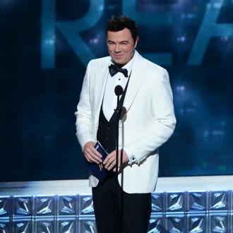 Seth Macfarlane's Microphone Mishap At Emmys