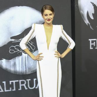Shailene Woodley lives out a suitcase
