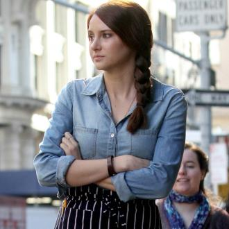Shailene Woodley 'Bummed' After Spider-man Axe