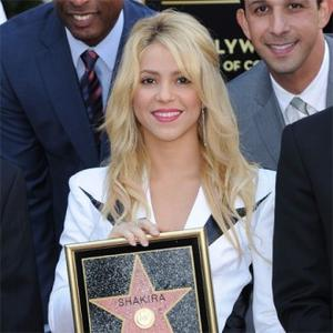 Shakira Honoured With Hollywood Star