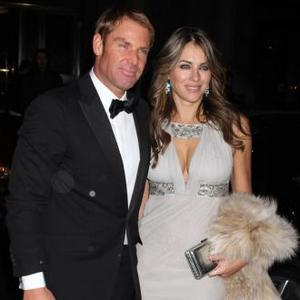 Elizabeth Hurley Bonds With Shane's Daughter
