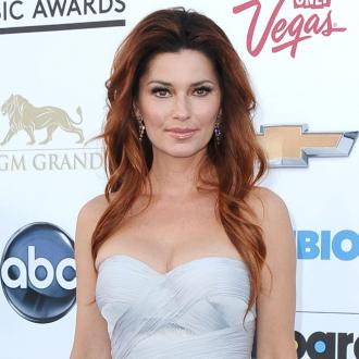 Shania Twain Celebrates Birthday At Us Open