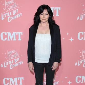 Shannen Doherty embraces exercise