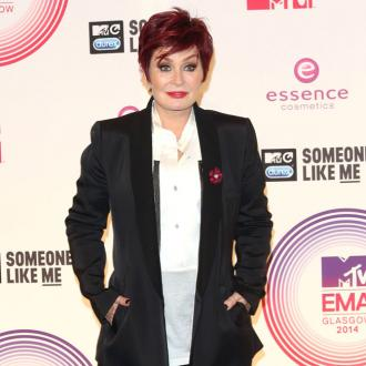 Sharon Osbourne embracing grey hair