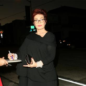 Sharon Osbourne's Tooth Falls On Out Tv