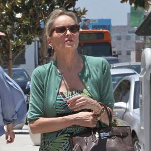 Stalker Arrested Outside Sharon Stone's Home