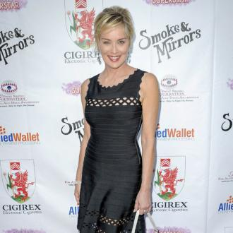 Sharon Stone takes up songwriting