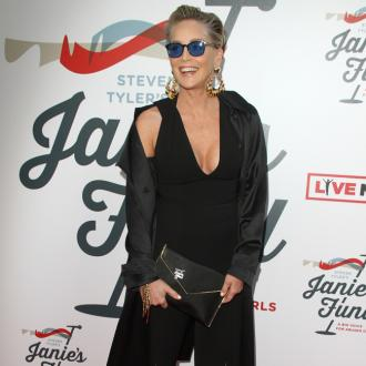 Sharon Stone's back to work nerves