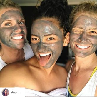 Shay Mitchell always uses face masks