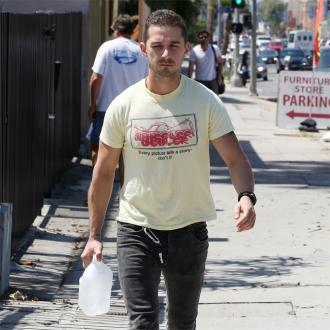 Shia Labeouf Wants To Stay Sober For Brad Pitt