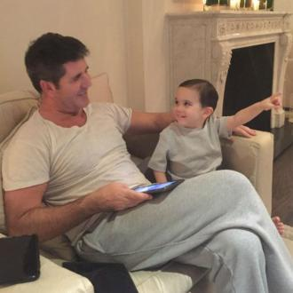 Simon Cowell is hero to son