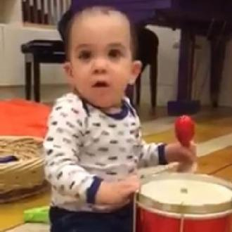 Simon Cowell Employs Son As One Direction's Drummer