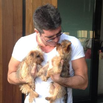 Simon Cowell's dog thinks she's a boy