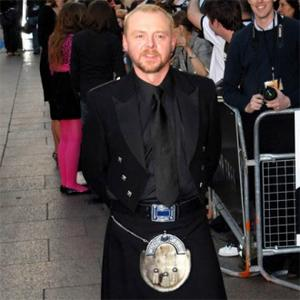 Simon Pegg Impressed By Cgi Alien
