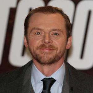 Simon Pegg Distracted By Female Co-stars
