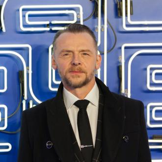 Simon Pegg urges fans to seek help for mental health