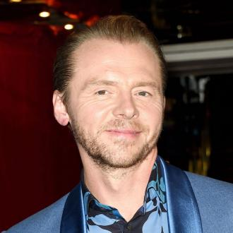 People Assume I'm Always Happy, Says Simon Pegg