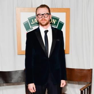Simon Pegg 'Doesn't Have Much Time' To Relax With Family