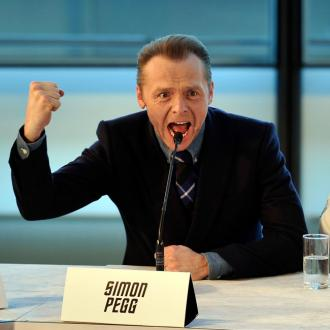 Simon Pegg Stole Badge From Star Trek Set