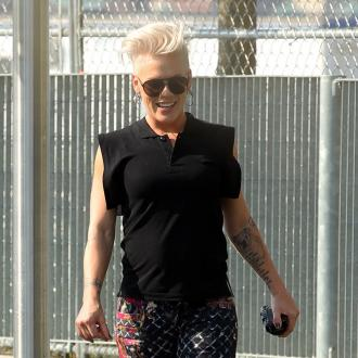 Pink Lost Weight With Intense Hollywood Workout