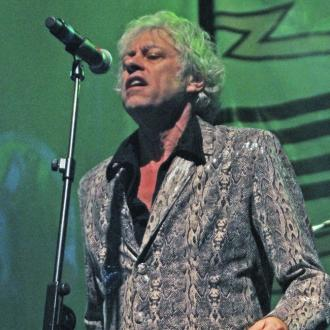 Bob Geldof finds comfort in performing