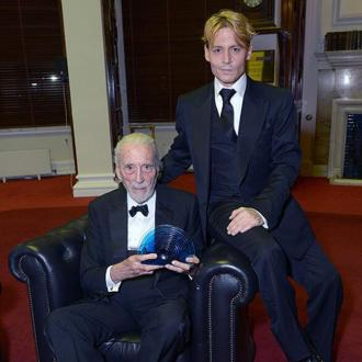 Johnny Depp Presents Christopher Lee With Bfi Fellowship